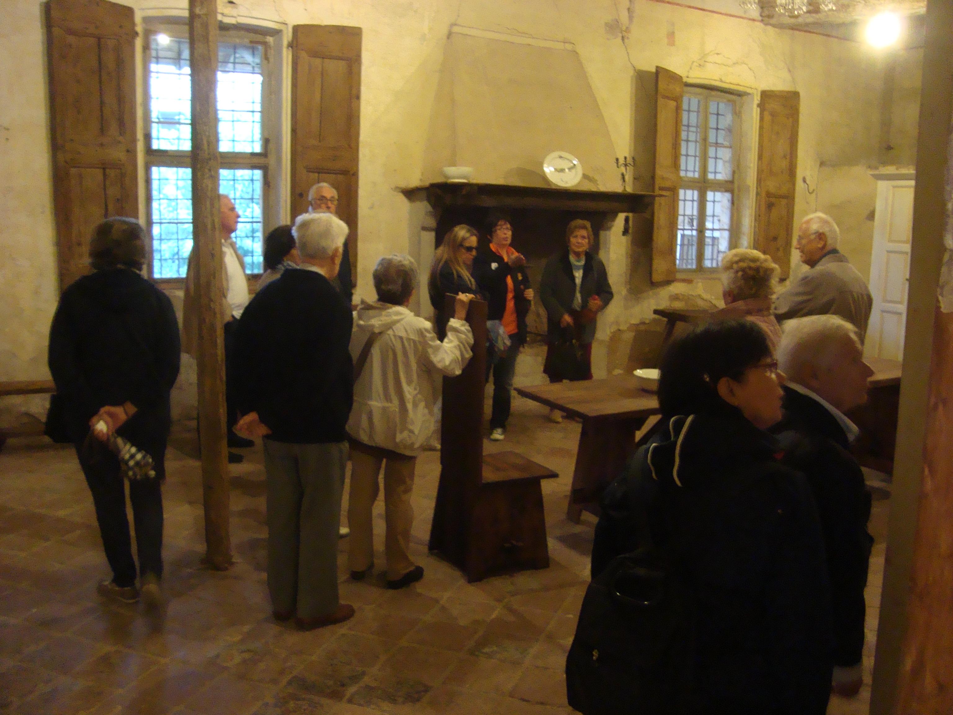 (Pagazzano) interno del Castello visconteo